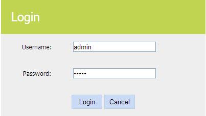 wireless router user password