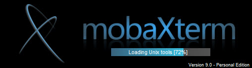 loading of MobaXterm