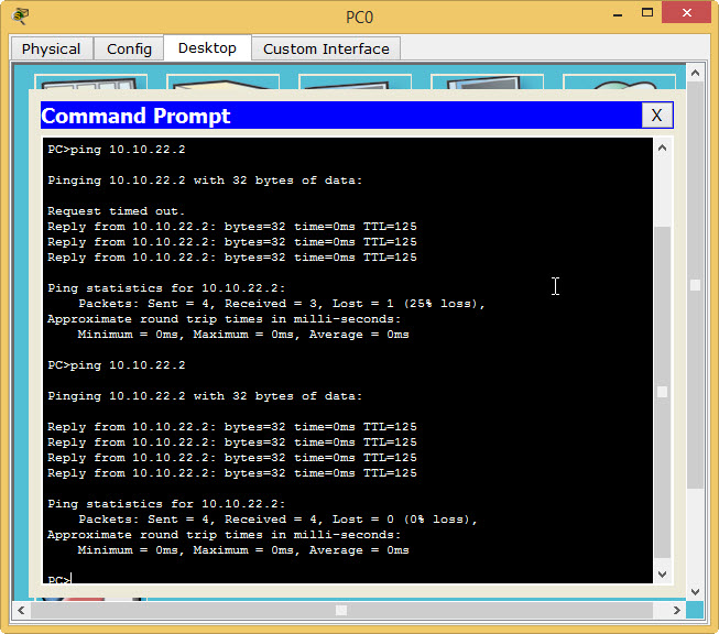 end-to-end-ping-ospf